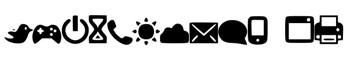 Symbols1 Font UPPERCASE