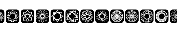 Symmetric Things 2 Font UPPERCASE