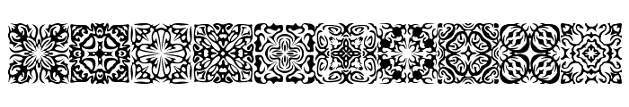 Symmetry BRK Font OTHER CHARS