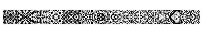 Symmetry BRK Font UPPERCASE