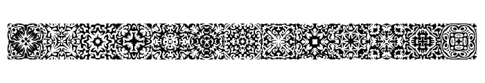 Symmetry BRK Font LOWERCASE