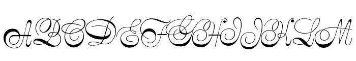 SymphonieCAT Font UPPERCASE