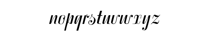 SymphonieCAT Font LOWERCASE