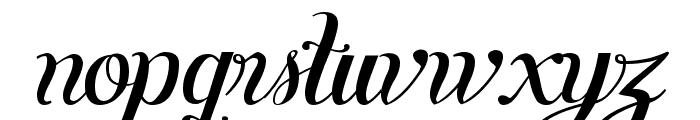 Symphony Script - personal use Font LOWERCASE