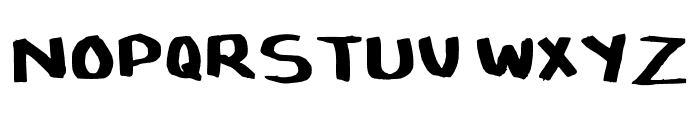 SymufaFlow Regular Font UPPERCASE