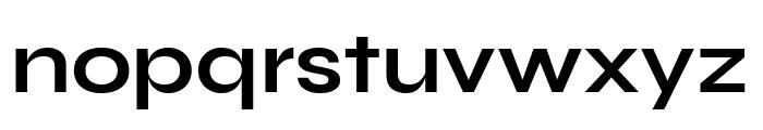 Syne Bold Font LOWERCASE
