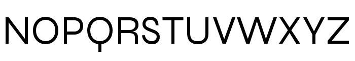 Syne Regular Font UPPERCASE