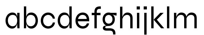 Syne Regular Font LOWERCASE