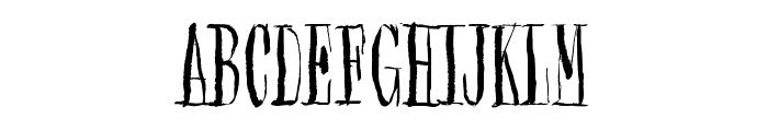 Synonym Blank Font UPPERCASE