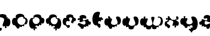 Syntosis Font LOWERCASE