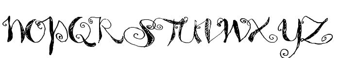 Syphon Spritz Font UPPERCASE