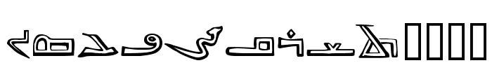 syriac Font UPPERCASE