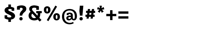 Sybilla Heavy Font OTHER CHARS