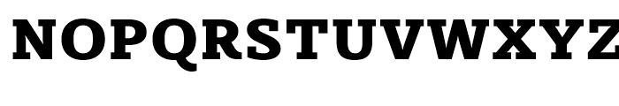 Sybilla Heavy Font UPPERCASE
