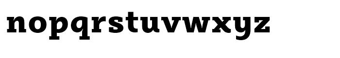 Sybilla Heavy Font LOWERCASE