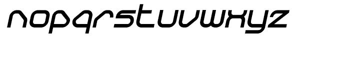 Sylar Black Italic Font LOWERCASE