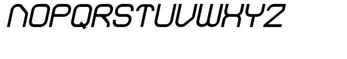 Sylar Extra Bold Italic Font UPPERCASE