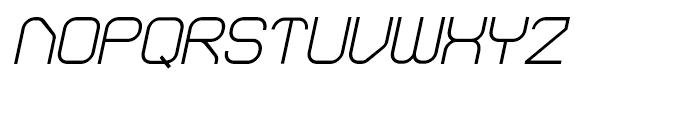 Sylar Regular Italic Font UPPERCASE
