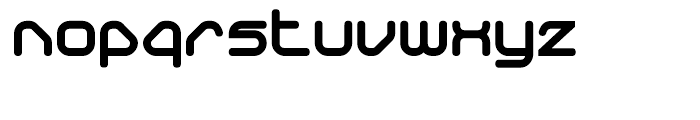 Sylar Round Ultra Font LOWERCASE