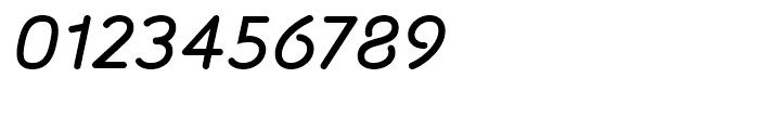 Sylvia Medium Italic Font OTHER CHARS