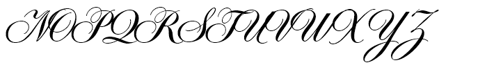 Symphony Bold Font UPPERCASE