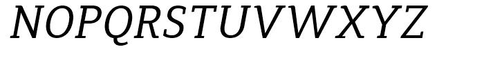 Synerga Pro Italic Font UPPERCASE