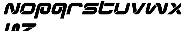 Synthesis Bold Oblique Font LOWERCASE