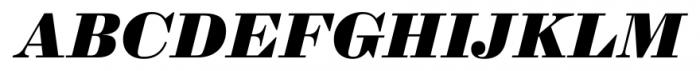 Sybarite Small Italic Font UPPERCASE
