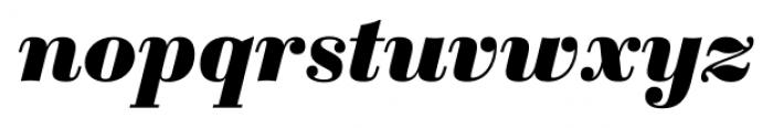 Sybarite Small Italic Font LOWERCASE