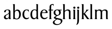 Sydney Serial Light Font LOWERCASE