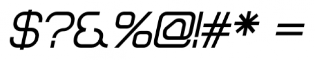 Sylar Bold Italic Font OTHER CHARS