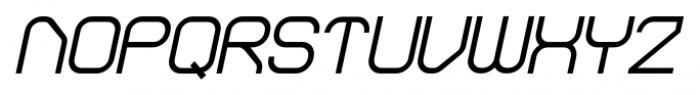 Sylar Bold Italic Font UPPERCASE