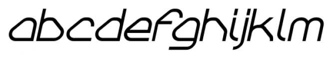 Sylar Bold Italic Font LOWERCASE