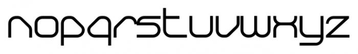 Sylar Bold Font LOWERCASE