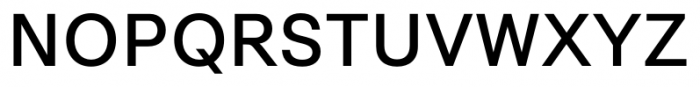 Synthese Regular Font UPPERCASE