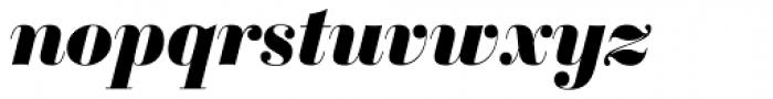 Sybarite Huge Italic Font LOWERCASE