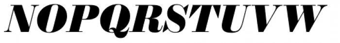 Sybarite Large Italic Font UPPERCASE