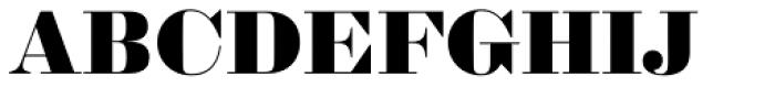 Sybarite Large Font UPPERCASE