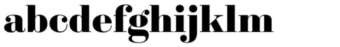 Sybarite Large Font LOWERCASE