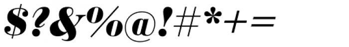 Sybarite Medium Italic Font OTHER CHARS