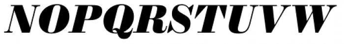 Sybarite Medium Italic Font UPPERCASE