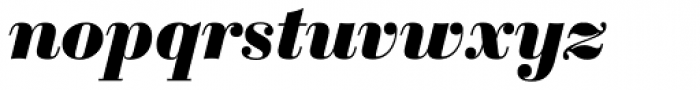 Sybarite Medium Italic Font LOWERCASE