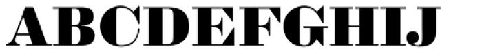 Sybarite Medium Font UPPERCASE