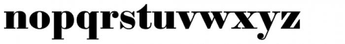Sybarite Medium Font LOWERCASE