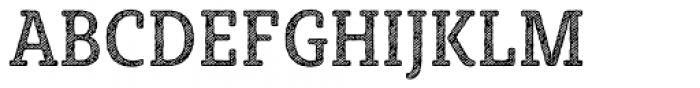Sybilla Hatch Pro Condensed Regular Font UPPERCASE