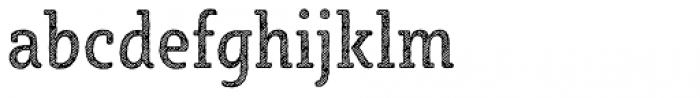 Sybilla Hatch Pro Condensed Regular Font LOWERCASE