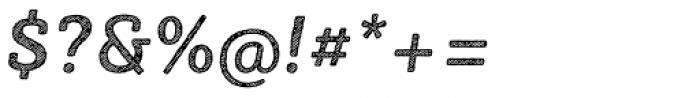 Sybilla Hatch Pro Medium Italic Font OTHER CHARS