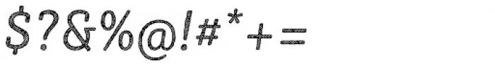 Sybilla Hatch Pro Narrow Book Italic Font OTHER CHARS
