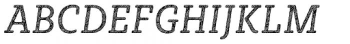 Sybilla Hatch Pro Narrow Book Italic Font UPPERCASE