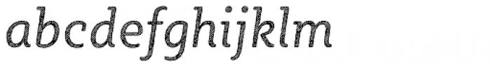 Sybilla Hatch Pro Narrow Book Italic Font LOWERCASE